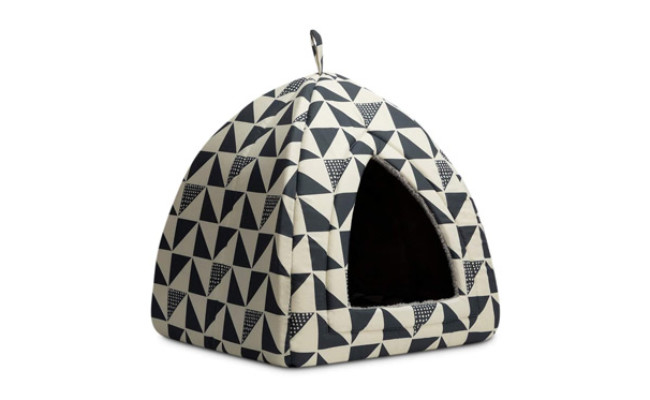 Hollypet Self-Warming 2 in 1 Dog Bed Tent House
