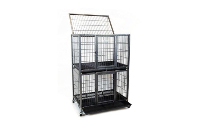 Homey Pet Ferret Cage with Plastic Tray