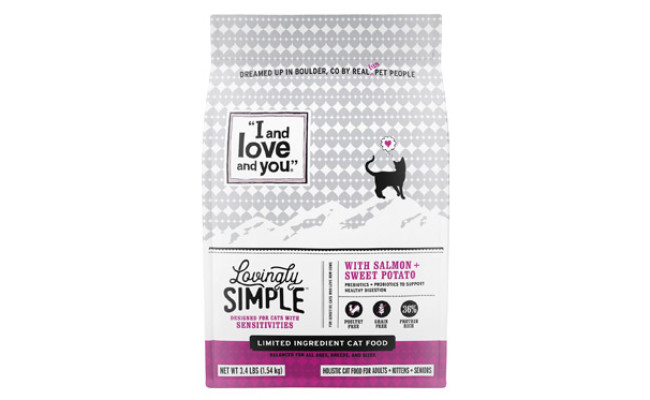 I and Love and You Lovingly Simple Limited Ingredient Diet Cat Food