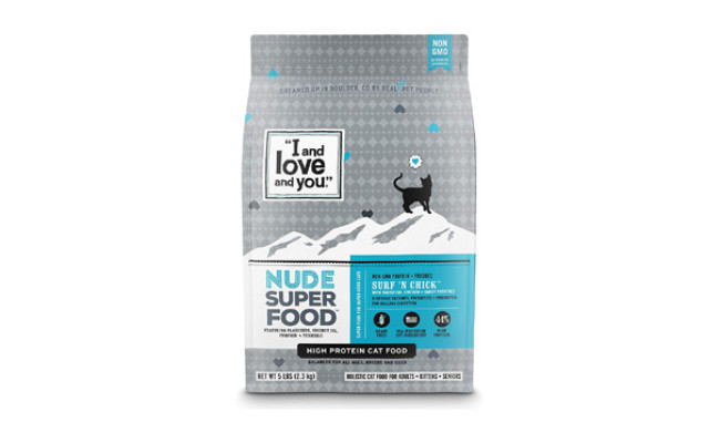 I and Love and You Nude Dry Cat Food
