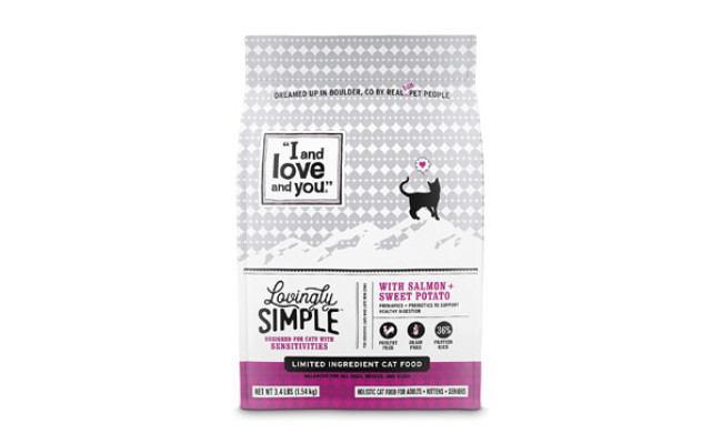 I and love and you Lovingly Simple Dry Cat Food