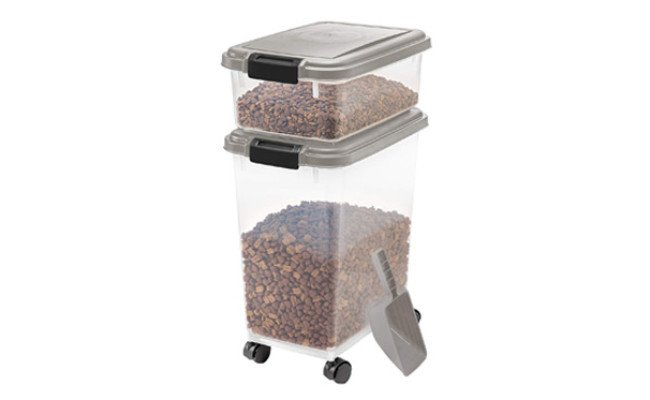 IRIS 3-Piece Airtight Pet Food Container