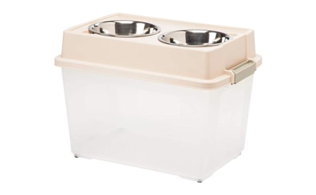 IRIS Elevated Feeder with Airtight Storage