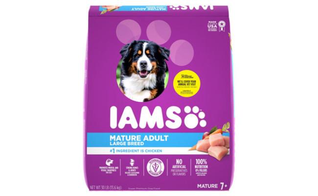 Iams Mature Adult Large Breed Dry Dog Food