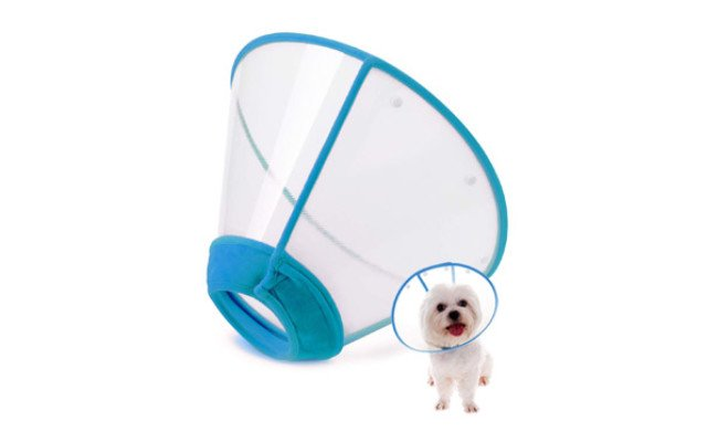 In Hand Adjustable Dog Cone