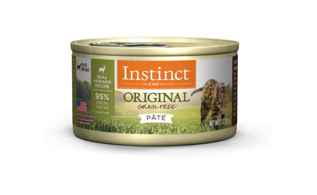 Instinct Grain Free Wet Cat Food Pate