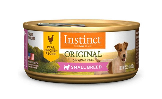 Instinct Original Small Breed Wet Canned Dog Food