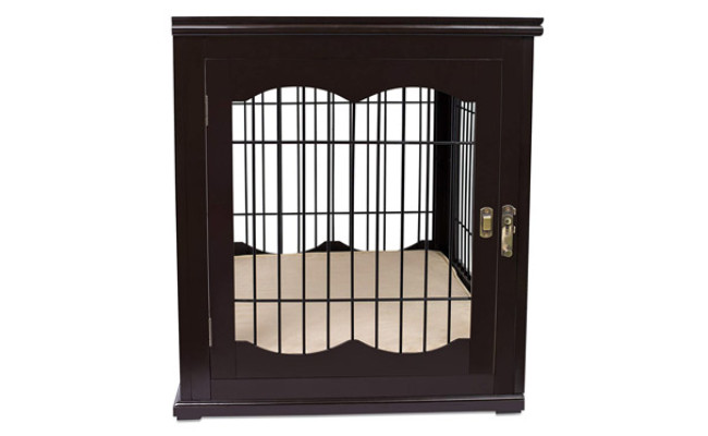 Internet's Best Decorative Dog Crate End Table