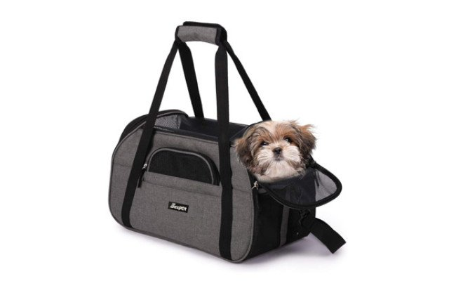 JESPET Soft-Sided Kennel Pet Carrier for Small Dogs