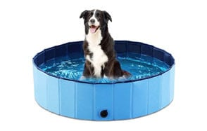 Jasonwell Foldable Dog Bath Pool