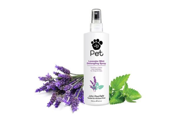 John Paul Pet Lavender Mint Detangling Spray for Dogs