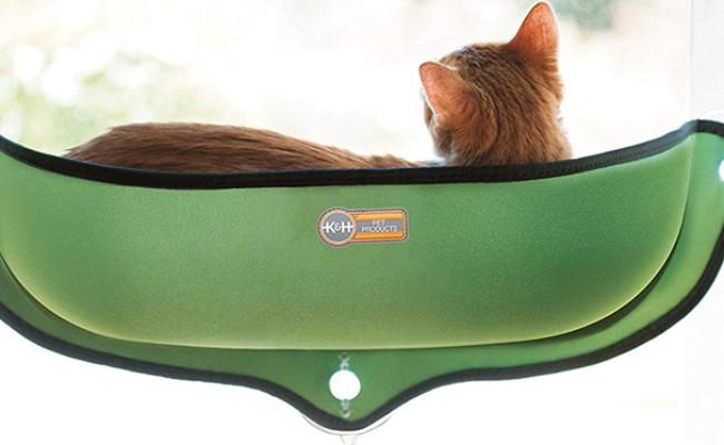 K&H Pet Products Cat EZ Mount Window Bed