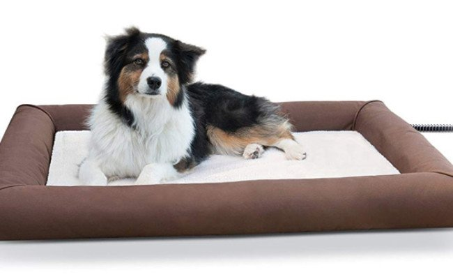K&H Pet Products Deluxe Lectro-Soft Outdoor Heated Bed