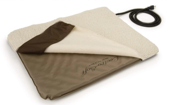 K&H Pet Products Heated Dog Bed with Cover