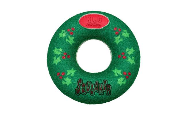 KONG Holiday AirDog Donut Dog Toy