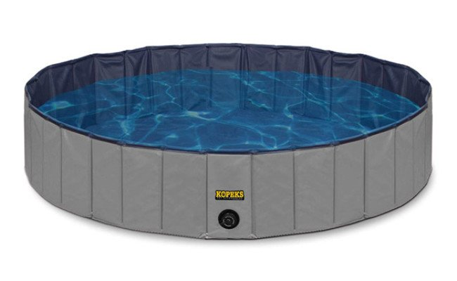 KOPEKS Round Outdoor Pool for Dogs