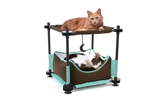 Kitty City Steel Claw Sleeper Cat Bed