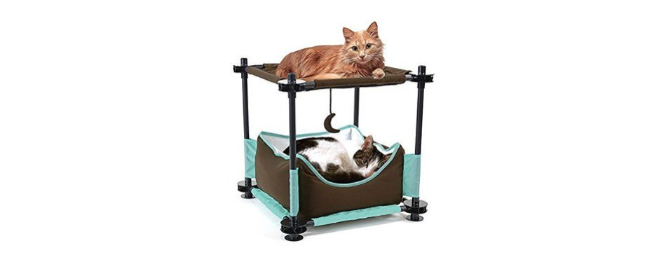 Kitty City Steel Claw Sleeper Cat Bed