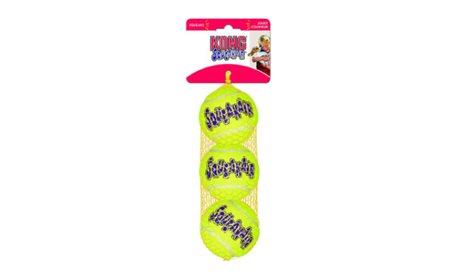 Kong Squeaker Tennis Balls for Dogs