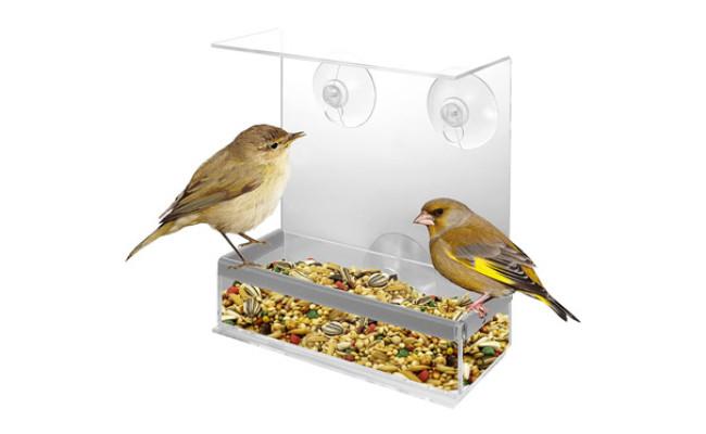 Kovot Acrylic Window Bird Feeder