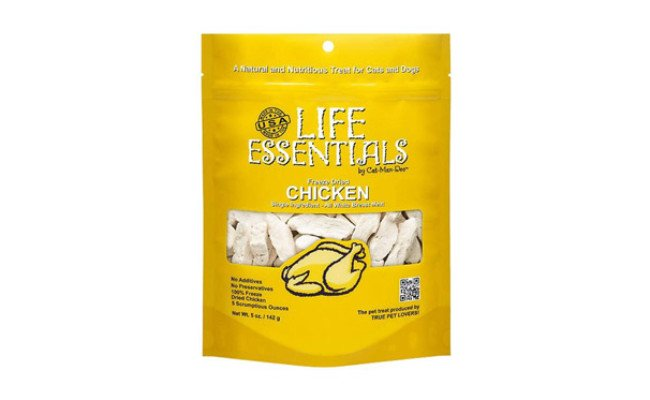 Life Essentials by Cat-Man-Doo Freeze Dried Chicken For Cats