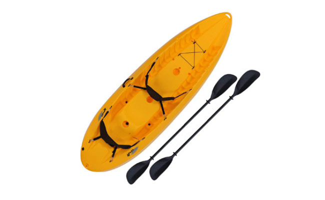 Lifetime Kayak with Padded Backrests