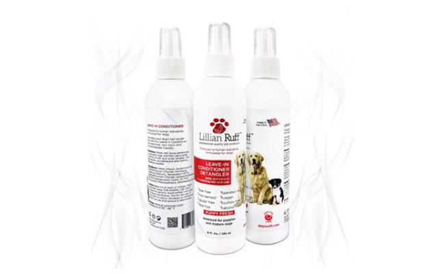 Lillian Ruff Dog Leave in Conditioner & Detangler Treatment Spray