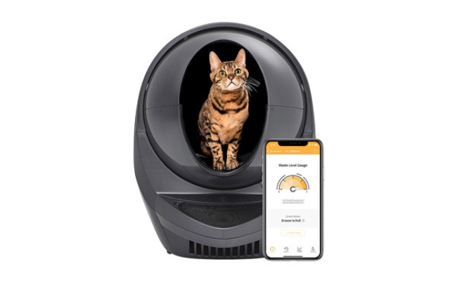 Litter-Robot WiFi Enabled Self-Cleaning Cat Litter Box