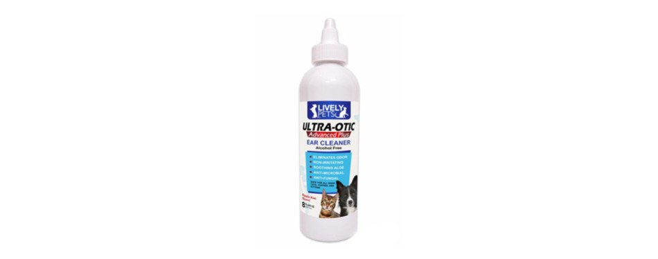 Lively Pets Ultra Otic Cat Ear Cleaner