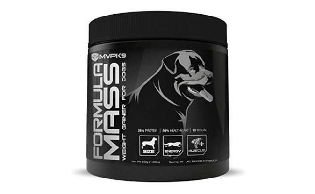 MVP K9 Supplements Mass Weight Gainer for Dogs