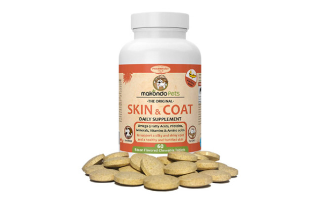 Makondo Pets Skin and Coat Supplement for Cats