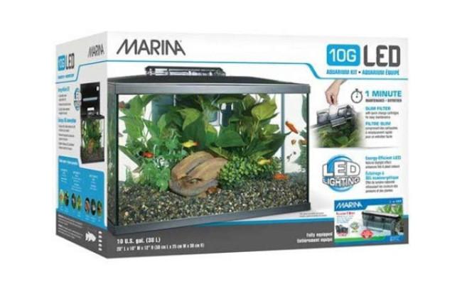 Marina LED Nano Reef Tank