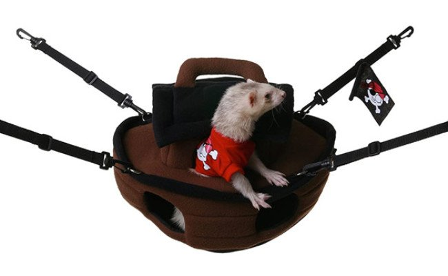 Marshall Pet Pirate Ship