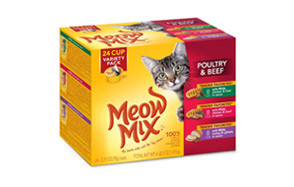 Meow Mix Wet Cat Food