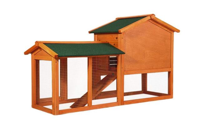 Merax Rabbit Wood House