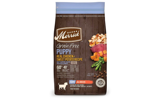 Merrick Grain Free Puppy Dry Dog Food