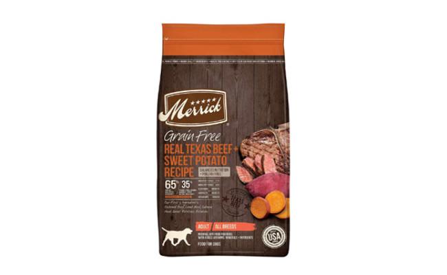 Merrick Grain Free with Real Meat + Sweet Potato Dog Food