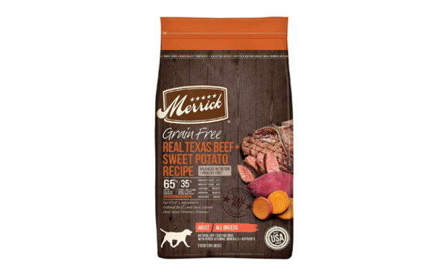 Merrick Real Texas Beef-Sweet Potato Recipe