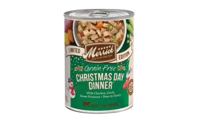 Merrick Seasonal Christmas Day Dinner Canned Dog Food