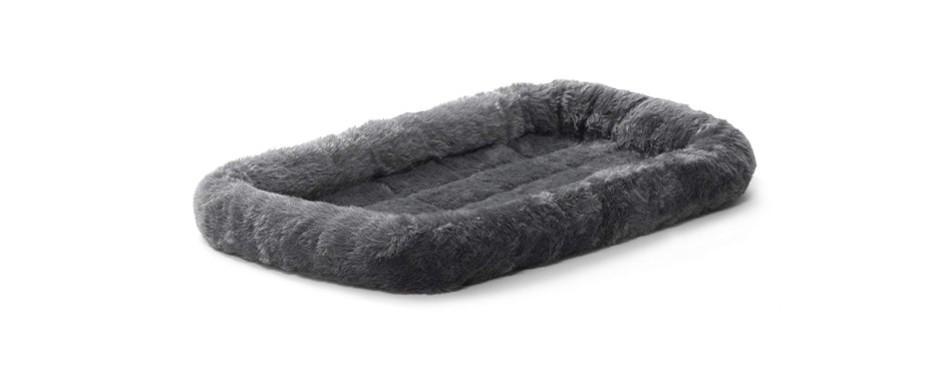 Deluxe Bolster Cat Bed by MidWest Homes for Pets