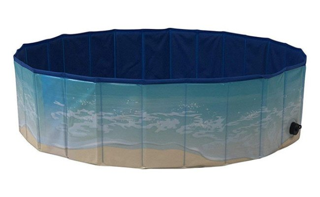 Midlee Portable Outdoor Dog Pool