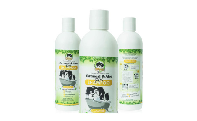 Mika Pets Dog Shampoo for Smelly Puppy
