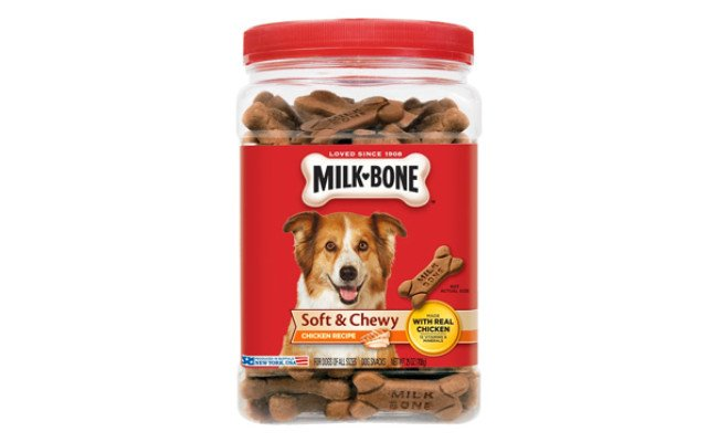Milk Bone Soft & Chewy Chicken Recipe Dog Treats