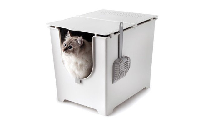 Modkat Flip Litter Box with Scoop
