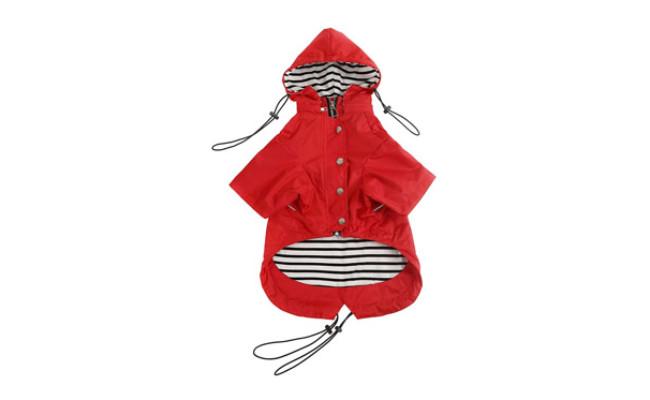 Morezi Zip Up Dog Raincoat with Reflective