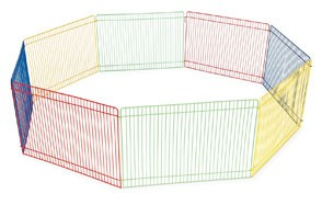 Multi-Color Small Pet Playpen by Prevue Pet Products