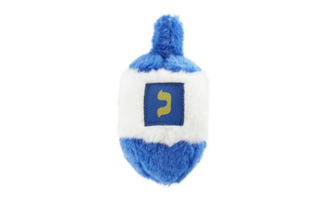 Multipet Musical Hanukkah Dreidel Plush Dog Toy
