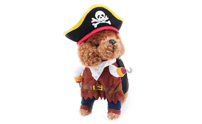NACOCO Dog Costume Pirates of The Caribbean