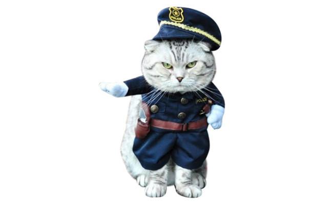 NACOCO Pet Policeman Costume