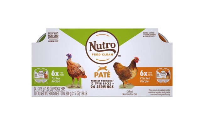 NUTRO Perfect Portions Grain Free Natural Wet Cat Food